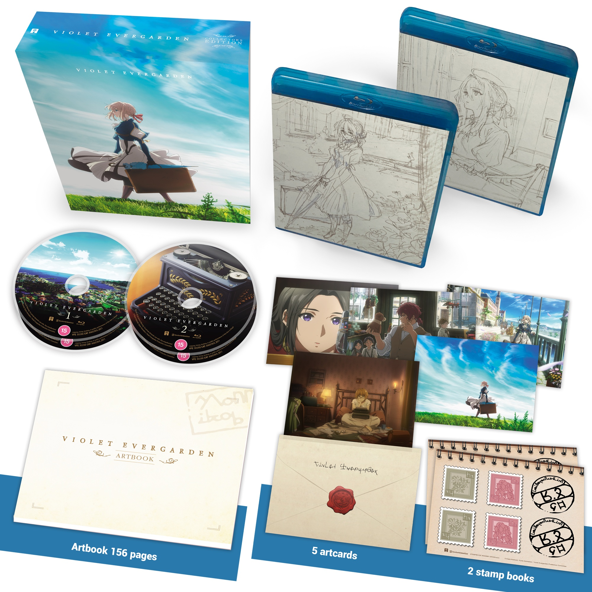 Violet Evergarden UK Collectors Edition Blu-ray