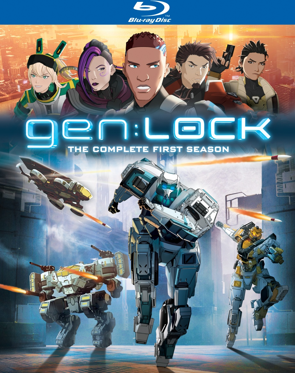 gen:Lock Season 1 Blu-ray
