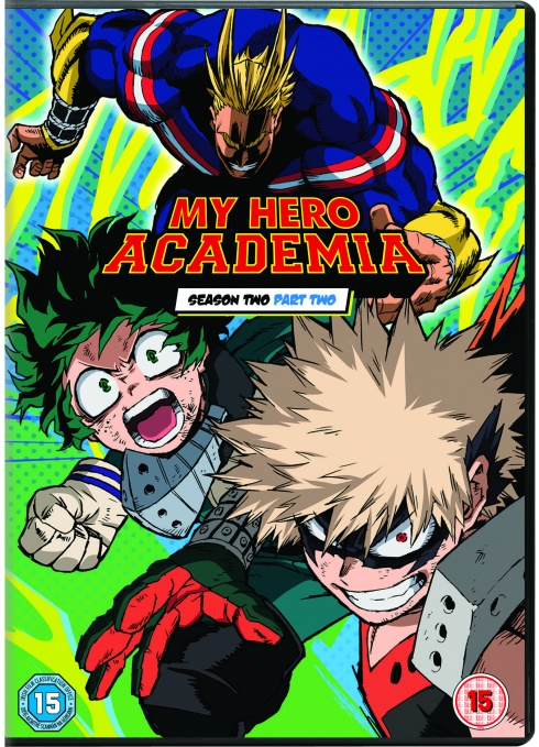 My Hero Academia Season 2 Part 2 DVD