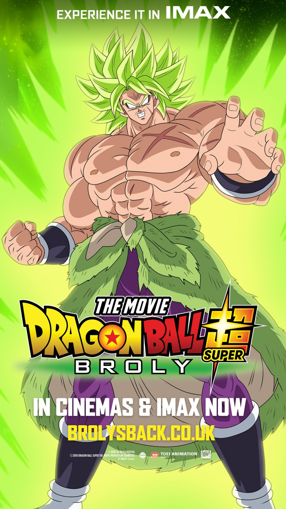Dragon Ball Super: Broly IMAX