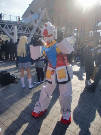 Cosplayers at Comiket 77