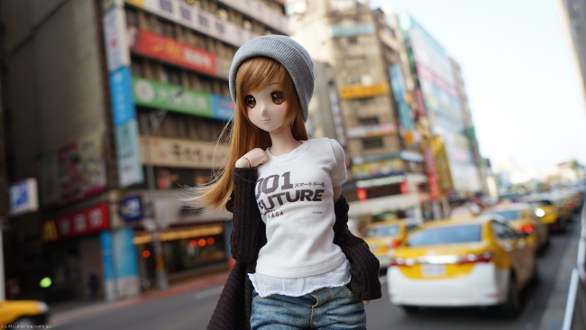 Smart Doll designed by Danny Choo
