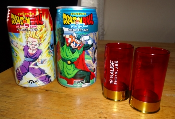 Dragon Ball Kai Drinks