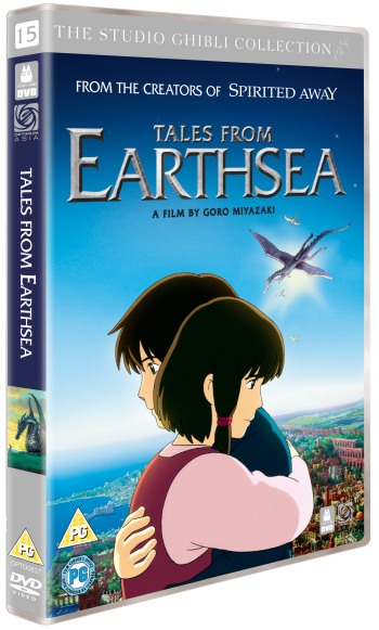 Tales from Earthsea UK DVD