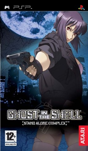 PSP Game - Ghost In The Shell: Stand Alone Complex