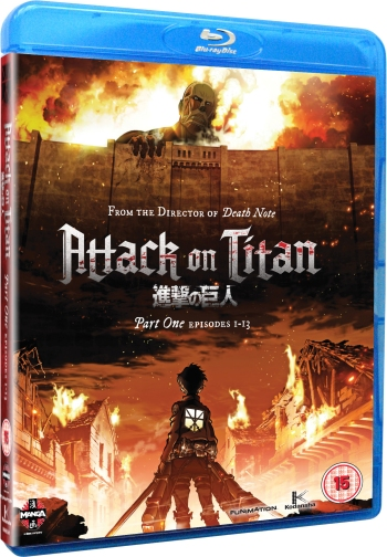 Attack On Titan Part 1 UK Blu-ray Competition