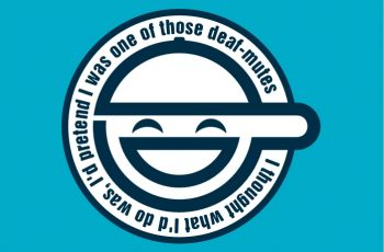 The Original Laughing Man Logo as submitted by Paul